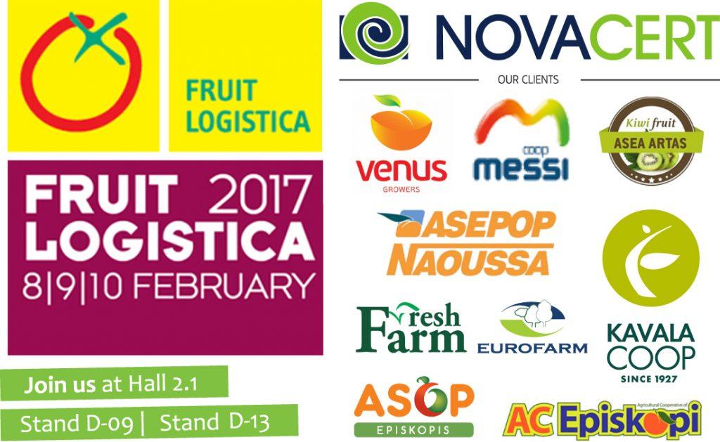 Novacert at Fruit Logistica 2017