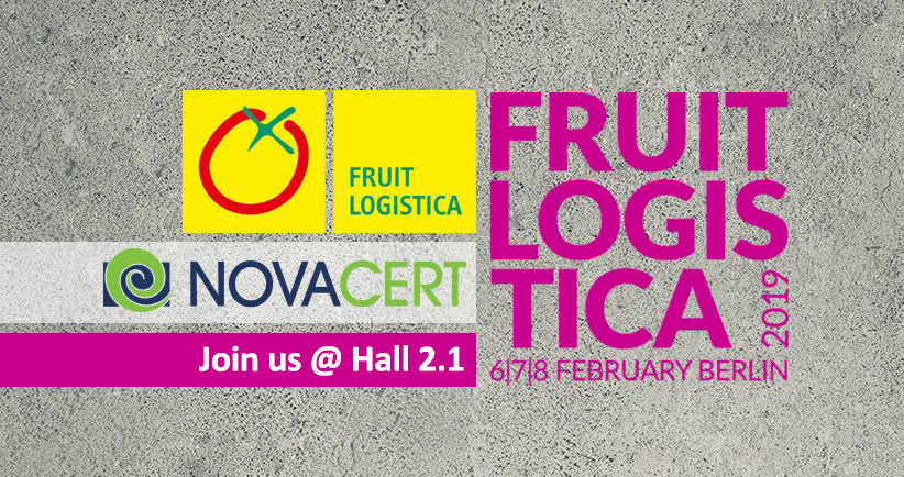 novacert at fruitlogistica 2019