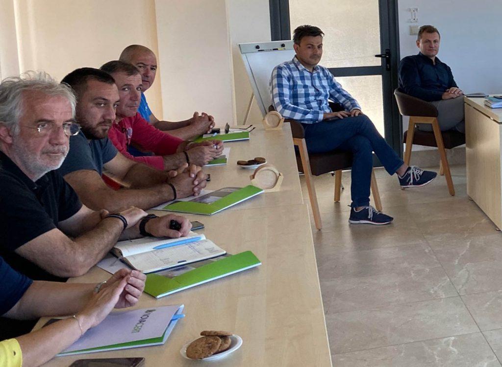 Συνεργασία και παροχή τεχνογνωσίας σε παραγωγούς από την Κύπρο